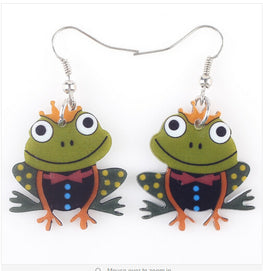 New Frog Shaped Earrings
