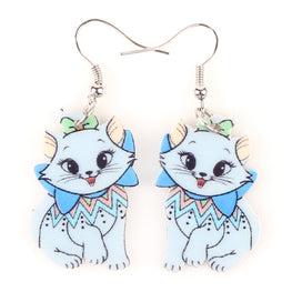 Trendy Cat Shaped Drop Earrings