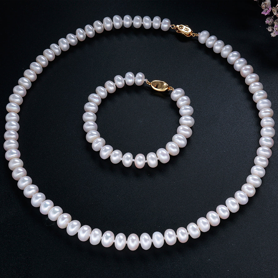 Genuine Trendy Pearls Set