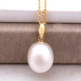Classic Pearl 18K Yellow Gold Pendant