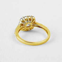 New Special Yellow Gold Wedding Ring