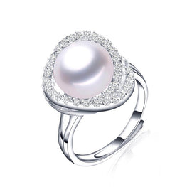 Brand New Collection of Natural Pearl Silver Rings