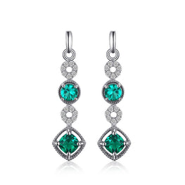 Classic Emerald Earrings