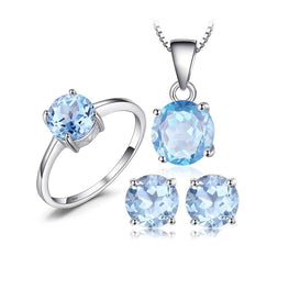 Appealing Topaz Jewelry Set