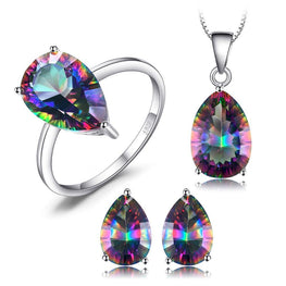Exceptional Cut Topaz Jewelry Set