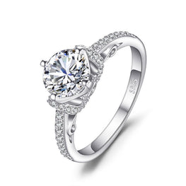 Brand New Round Shaped Solitaire Wedding Ring