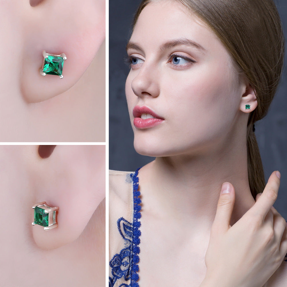 Beautiful Emerald Earrings
