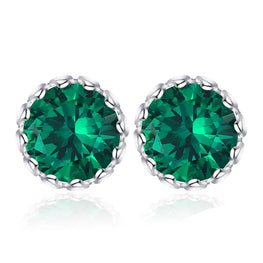 Charming Emerald Earrings