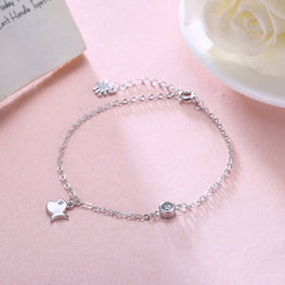 Beautiful Fish Shaped Silver Bracelet