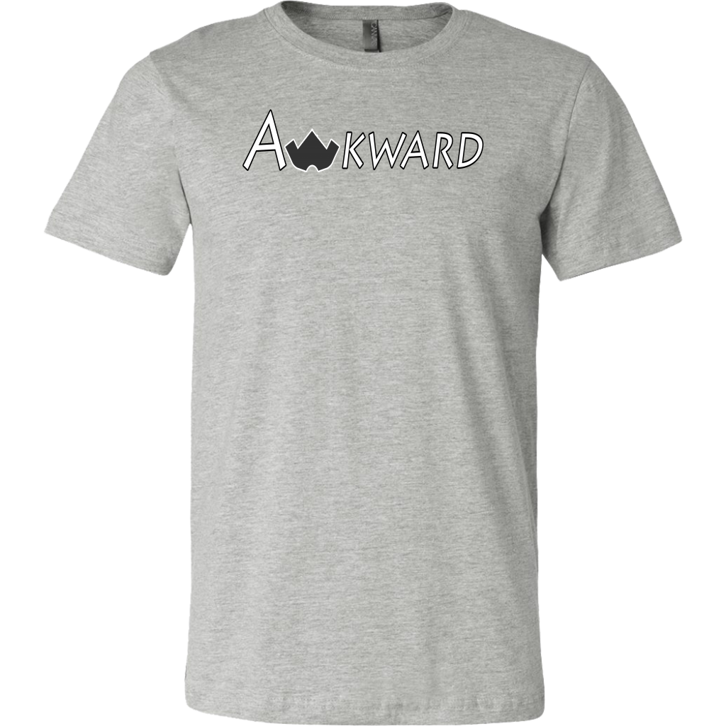 Awkward T-Shirt-Athletic Heather-S-Awkward T-Shirts