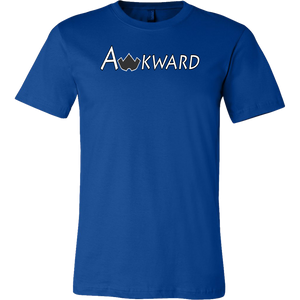 Awkward T-Shirt-True Royal-S-Awkward T-Shirts