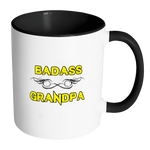 Badass Grandpa Coffee Mug - Awkward T-Shirts
