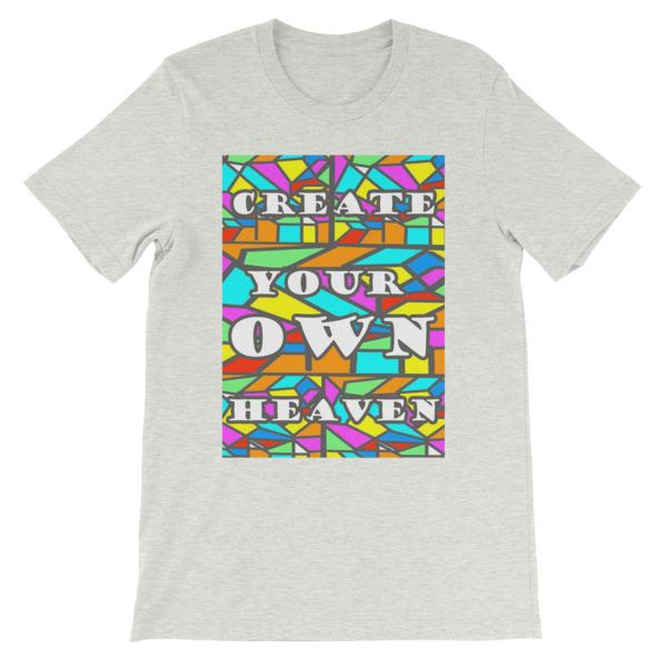 Create Your Own Heaven T-Shirt-Ash-S-Awkward T-Shirts