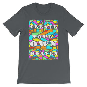 Create Your Own Heaven T-Shirt-Asphalt-S-Awkward T-Shirts