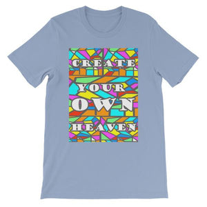 Create Your Own Heaven T-Shirt-Baby Blue-S-Awkward T-Shirts