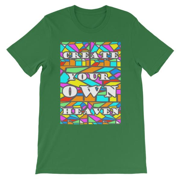 Create Your Own Heaven T-Shirt-Leaf-S-Awkward T-Shirts