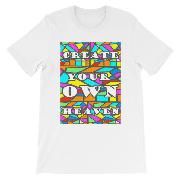 Create Your Own Heaven T-Shirt-White-S-Awkward T-Shirts