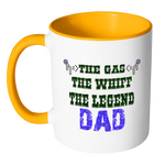 Dad The Gas The Whiff The Legend Coffee Mug - Dad Gift