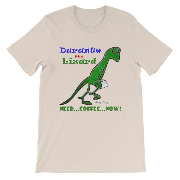 Durante Need Coffee Now T-shirt-Soft Cream-S-Awkward T-Shirts