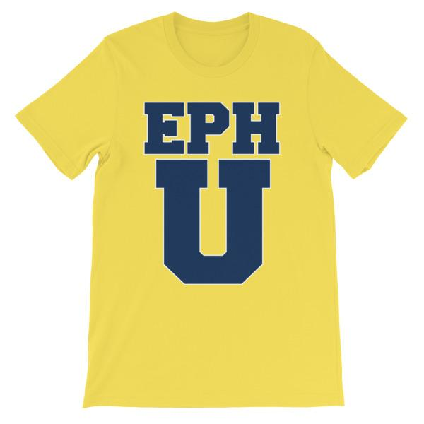 Eph U T-shirt-Yellow-S-Awkward T-Shirts