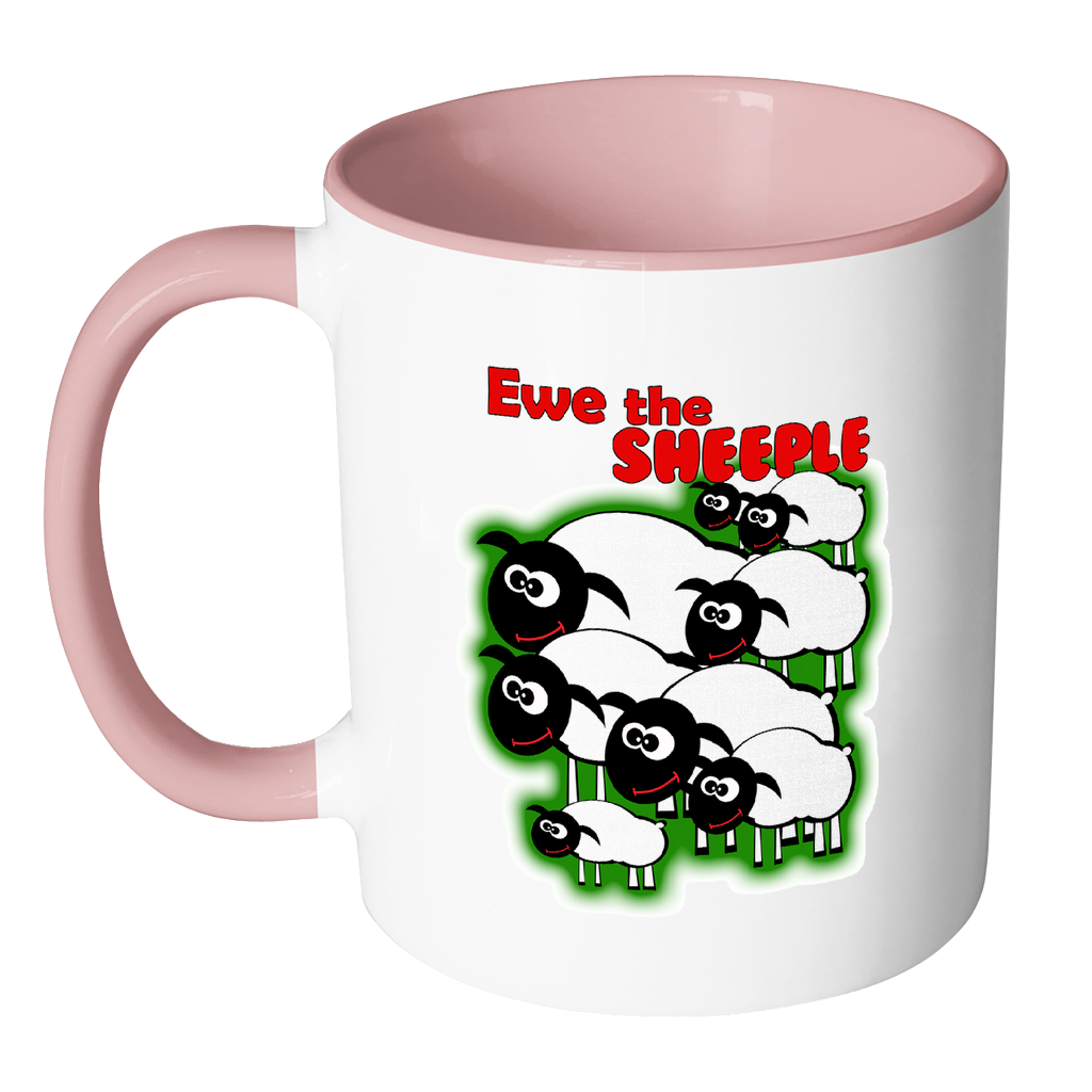 Ewe the Sheeple Funny Coffee Mug - Awkward T-Shirts