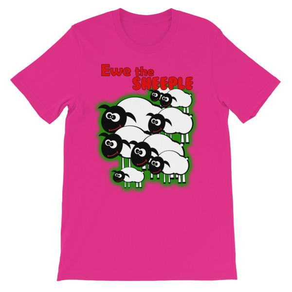 Ewe The Sheeple T-shirt-Berry-S-Awkward T-Shirts