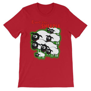Ewe The Sheeple T-shirt-Red-S-Awkward T-Shirts