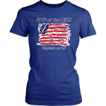 Fate of the Union Depends on Us Women's Patriotic Shirt