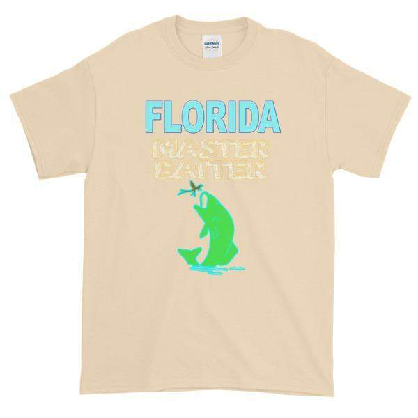 Florida Master Baiter t-shirt-Natural-S-Awkward T-Shirts