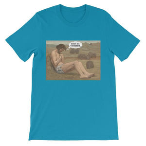 I Feel So Violated T-shirt-Aqua-S-Awkward T-Shirts
