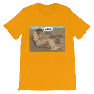 I Feel So Violated T-shirt-Gold-S-Awkward T-Shirts