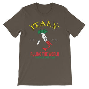 Italy Ruling the World for Over 2000 Years T-shirt-Army-S-Awkward T-Shirts