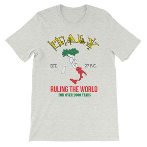 Italy Ruling the World for Over 2000 Years T-shirt-Ash-S-Awkward T-Shirts