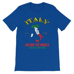 Italy Ruling the World for Over 2000 Years T-shirt-True Royal-S-Awkward T-Shirts