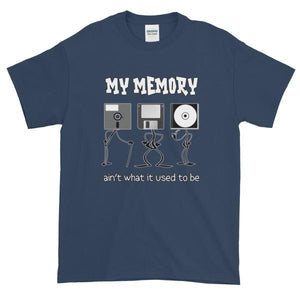 My Memory Ain't What it Used to Be Short-Sleeve T-Shirt-Blue Dusk-S-Awkward T-Shirts