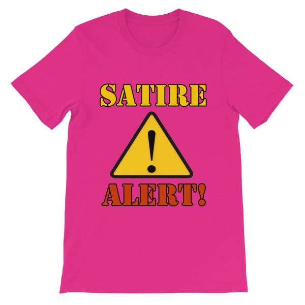 Satire Alert T-shirt-Berry-S-Awkward T-Shirts
