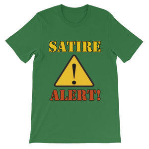 Satire Alert T-shirt-Leaf-S-Awkward T-Shirts