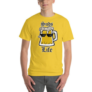 Suds Life Beer Lover T-Shirt-Daisy-S-Awkward T-Shirts