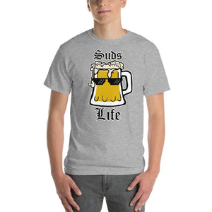 Suds Life Beer Lover T-Shirt-Sport Grey-S-Awkward T-Shirts