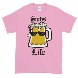 Suds Life T-shirt-Light Pink-S-Awkward T-Shirts