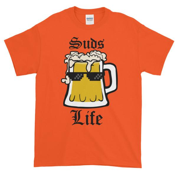 Suds Life T-shirt-Orange-S-Awkward T-Shirts