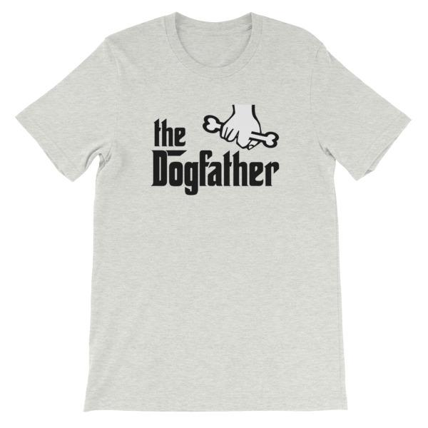 The Dogfather T-shirt-Ash-S-Awkward T-Shirts