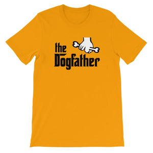 The Dogfather T-shirt-Gold-S-Awkward T-Shirts