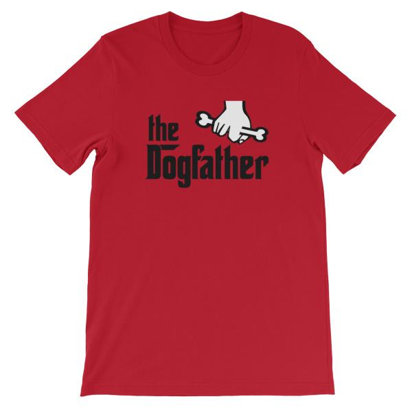 The Dogfather T-shirt-Red-S-Awkward T-Shirts