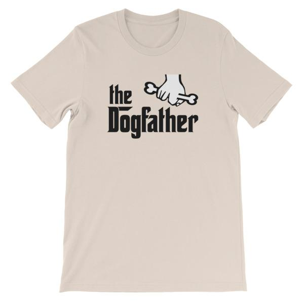 The Dogfather T-shirt-Soft Cream-S-Awkward T-Shirts