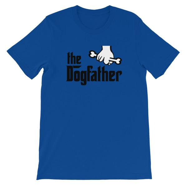 The Dogfather T-shirt-True Royal-S-Awkward T-Shirts