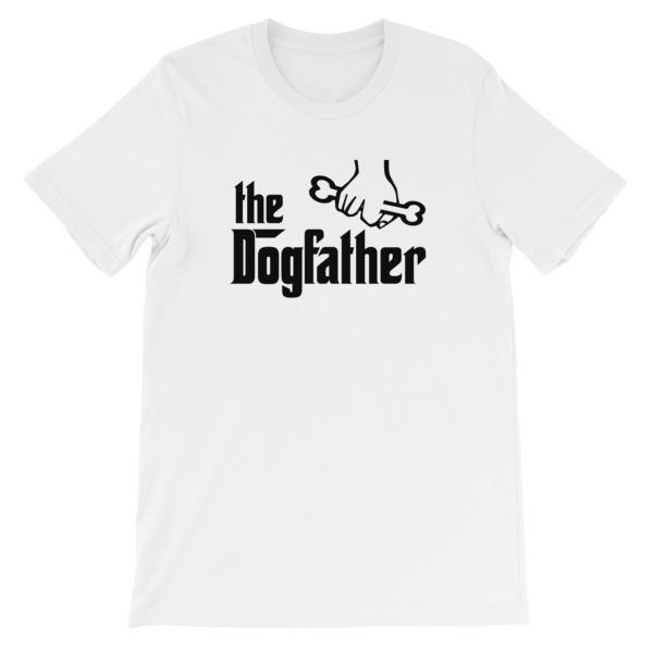 The Dogfather T-shirt-White-S-Awkward T-Shirts