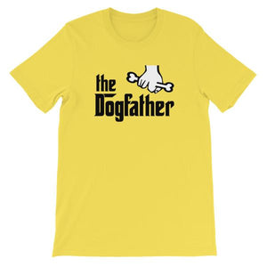 The Dogfather T-shirt-Yellow-S-Awkward T-Shirts