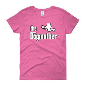 The Dogmother Funny Dog Lover Women's T-shirt-Azalea-S-Awkward T-Shirts