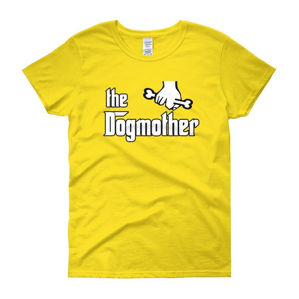 The Dogmother Funny Dog Lover Women's T-shirt-Daisy-S-Awkward T-Shirts